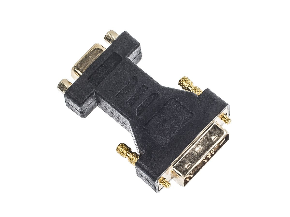 LINK2GO Adapter DVI-A - VGA AD2111BB male-female (7613058028440)